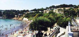Beach in France