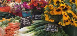 Flowers at a Paris Market